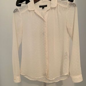 Banana Republic - Soft Button Up Shirt - XXS